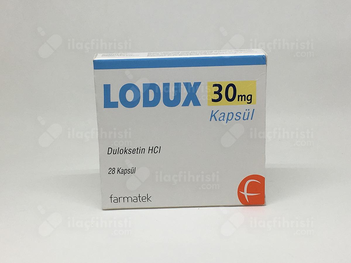 Lodux 30 mg 28 kapsül