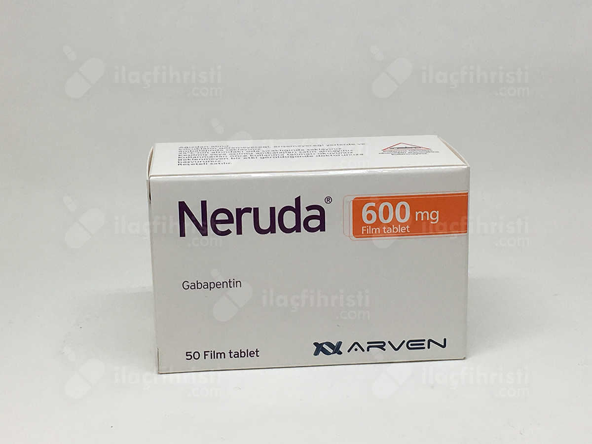 Neruda 600 mg 50 film tablet