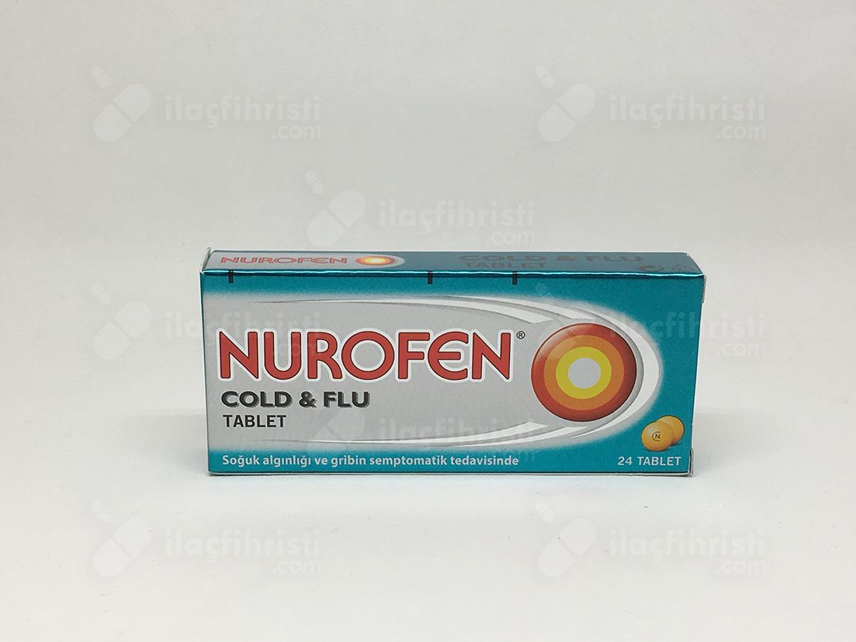 Nurofen cold flu 24 tablet