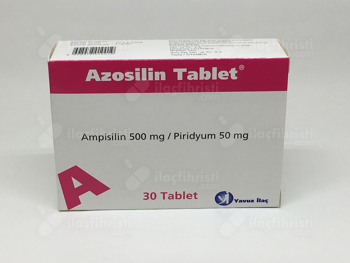 Azosilin 30 tablet