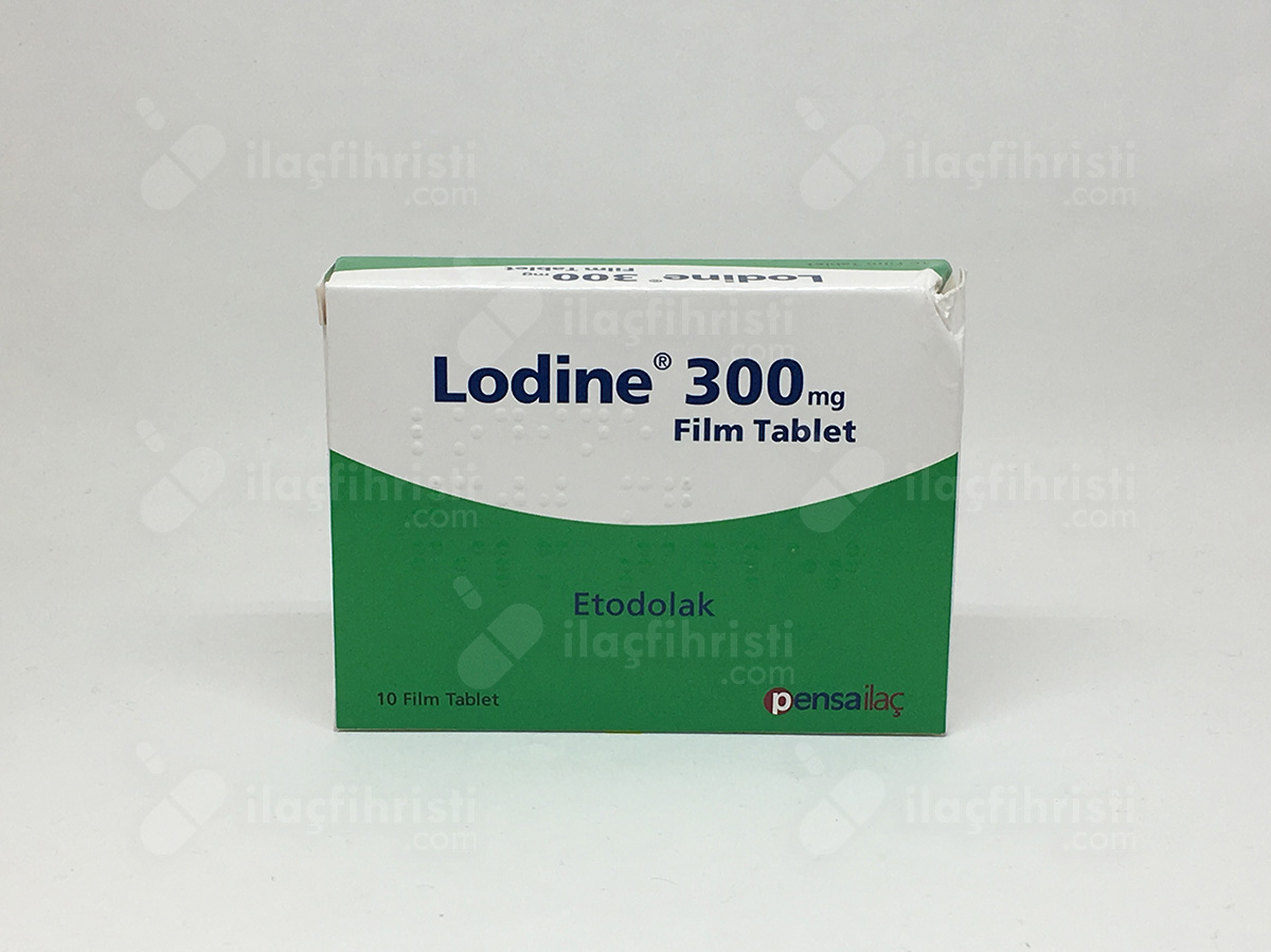 Lodine 300 mg 10 film tablet