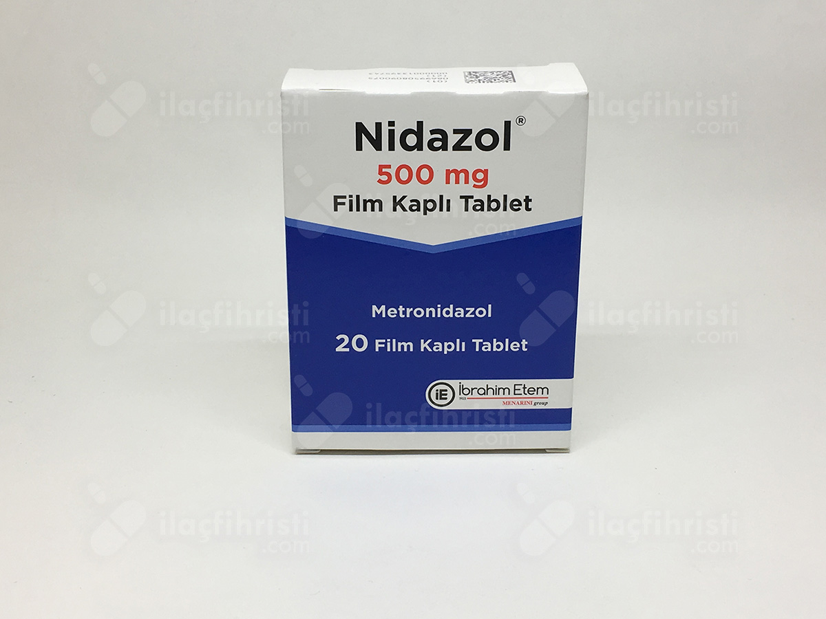 Nidazol 500 mg 20 f.tablet
