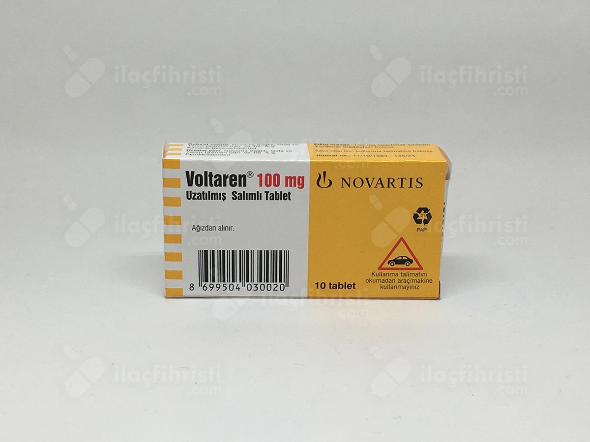 Voltaren retard 100 mg 10 tablet