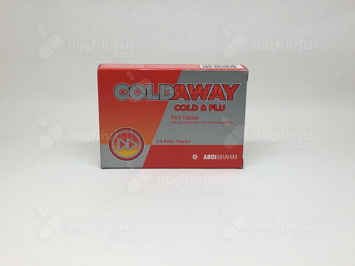 Coldaway cold flu 24 film tablet