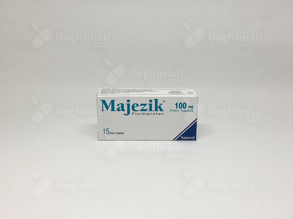 Majezik 100 mg 15 film tablet