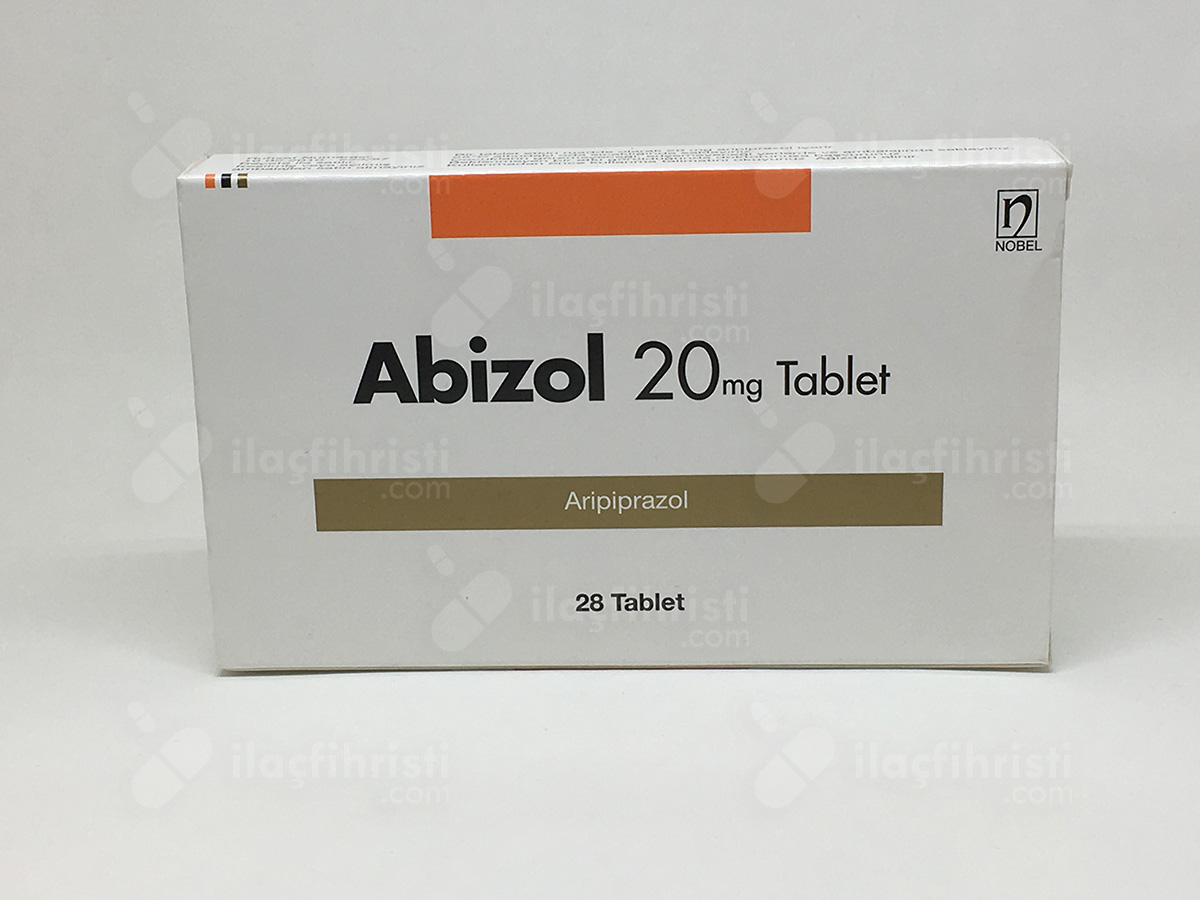 Abizol 20 mg 28 tablet