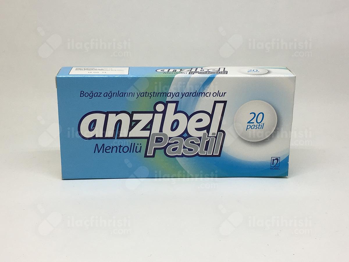 Anzibel mentollu 20 pastil