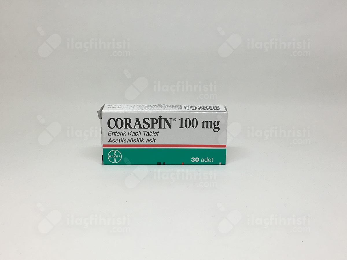 Coraspin 100 mg 30 tablet