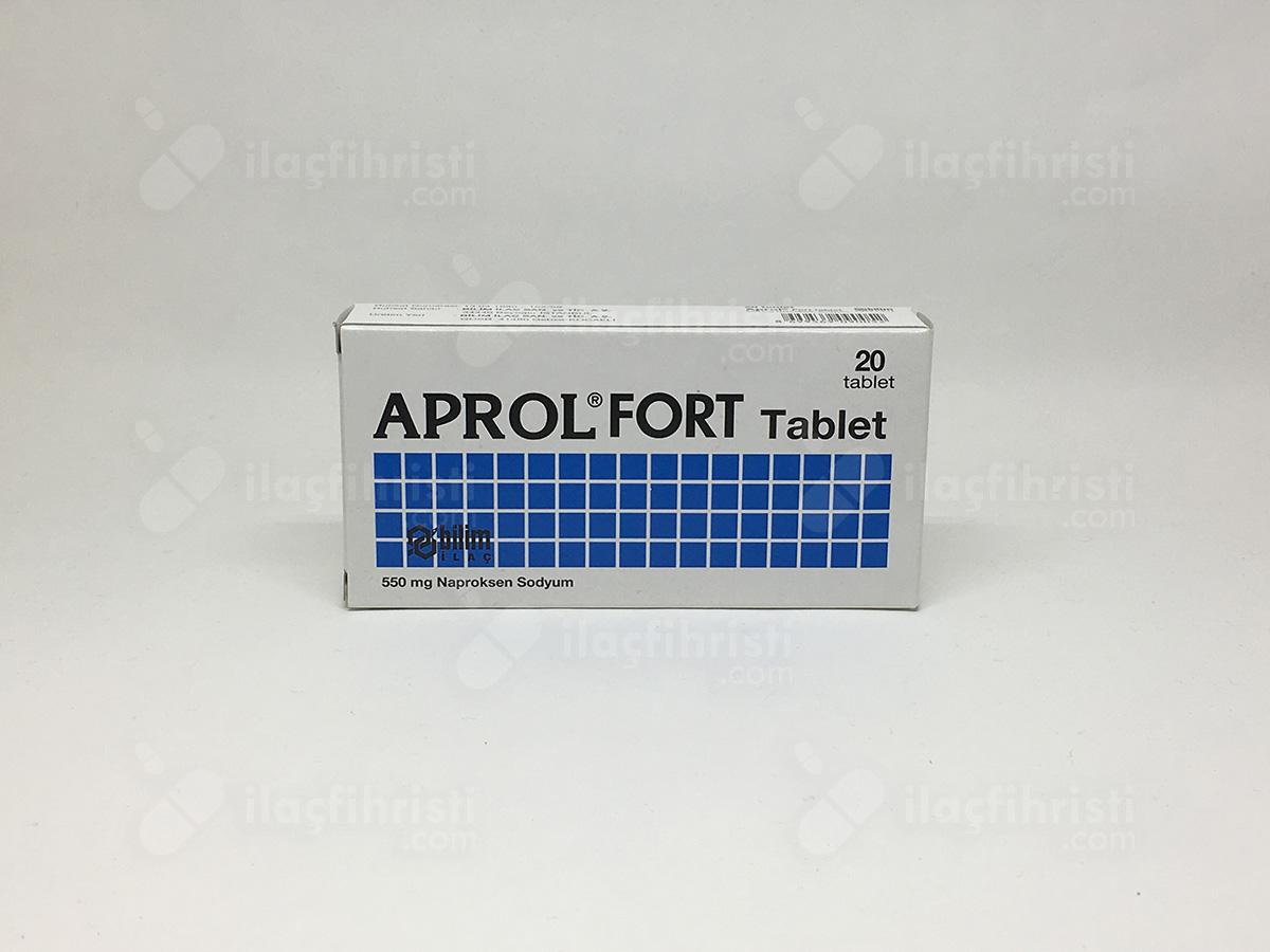 Aprol 550 mg 20 tablet