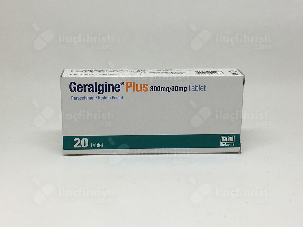 Geralgine plus 20 tablet
