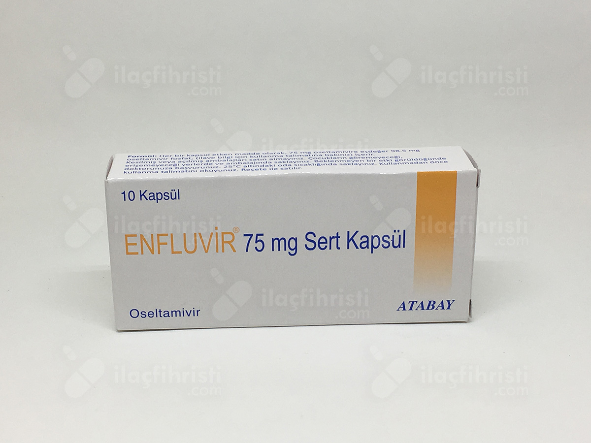 Enfluvir 75 mg 10 kapsül