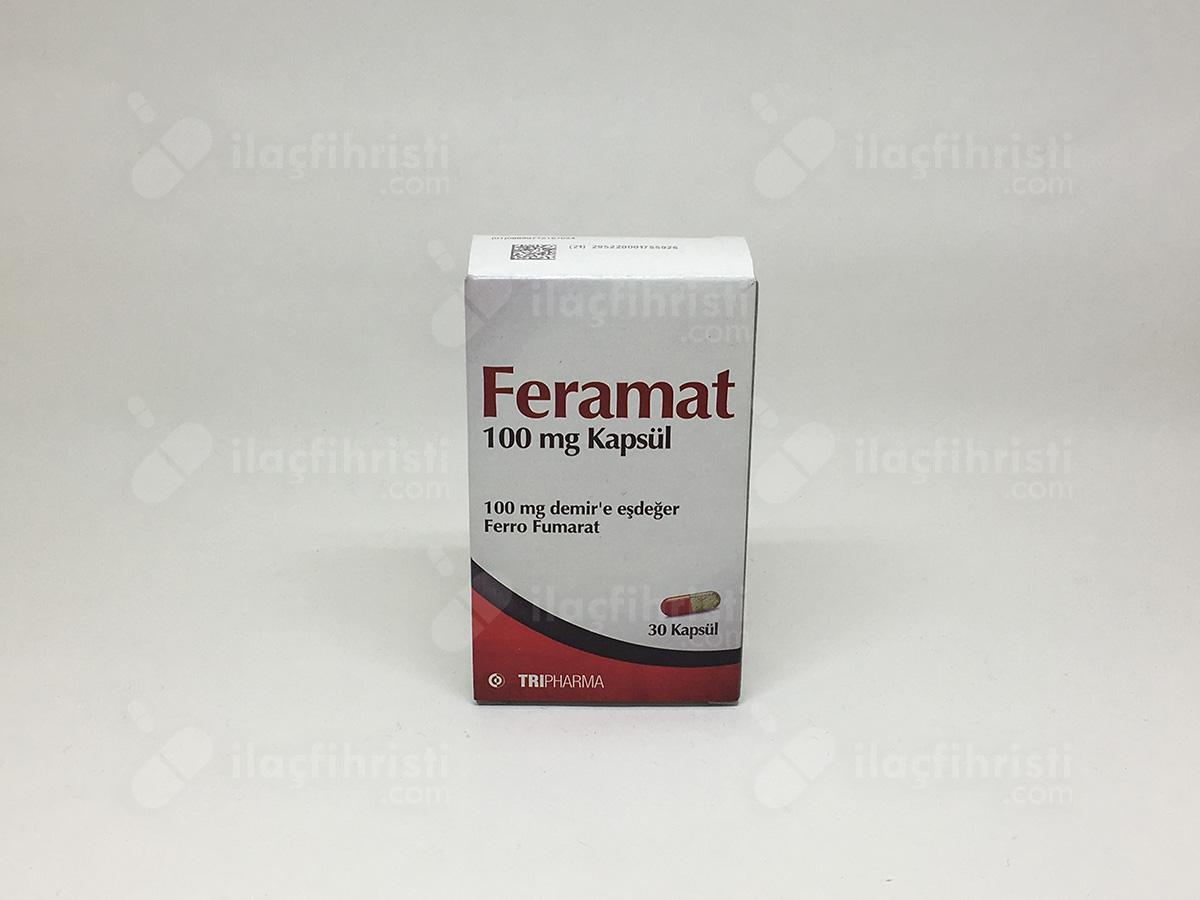 Feramat 100 mg 30 kapsül