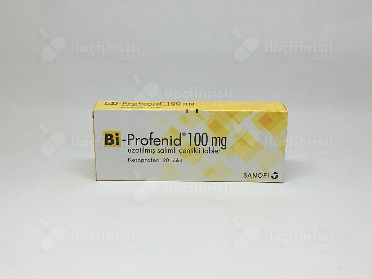 Bi-profenid 100 mg uzatılmış salımlı çentikli 20 tablet