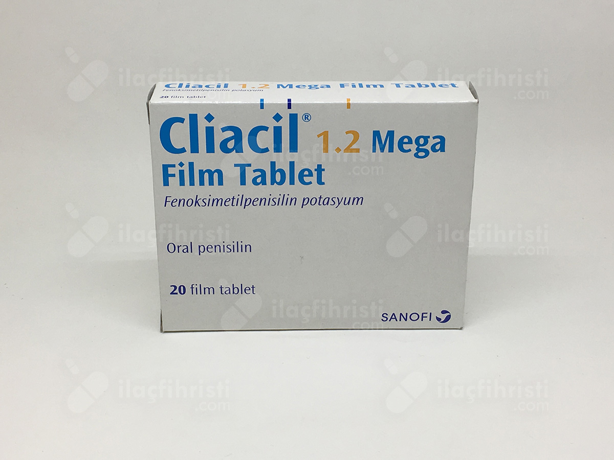 Cliacil 1,2 mega 20 tablet