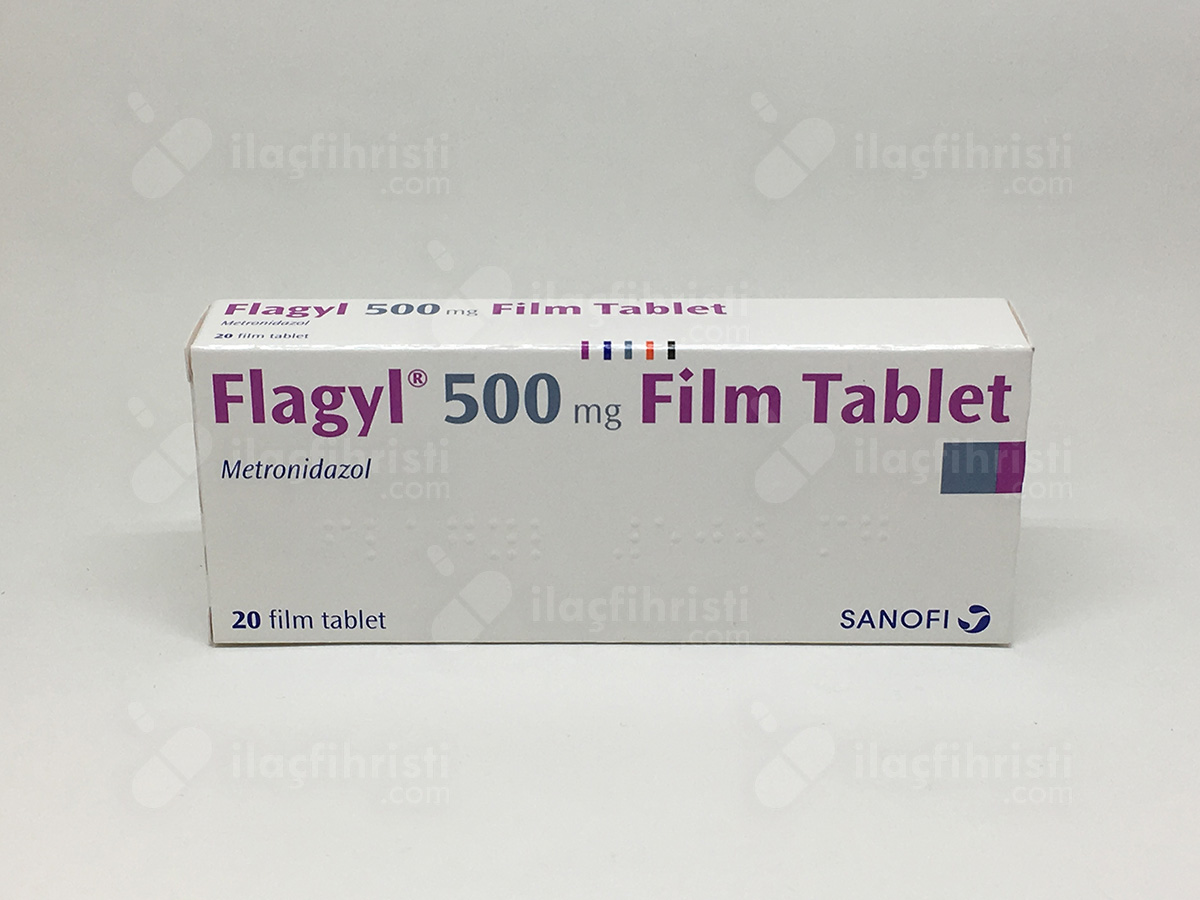 Flagyl 500 mg 20 film tablet